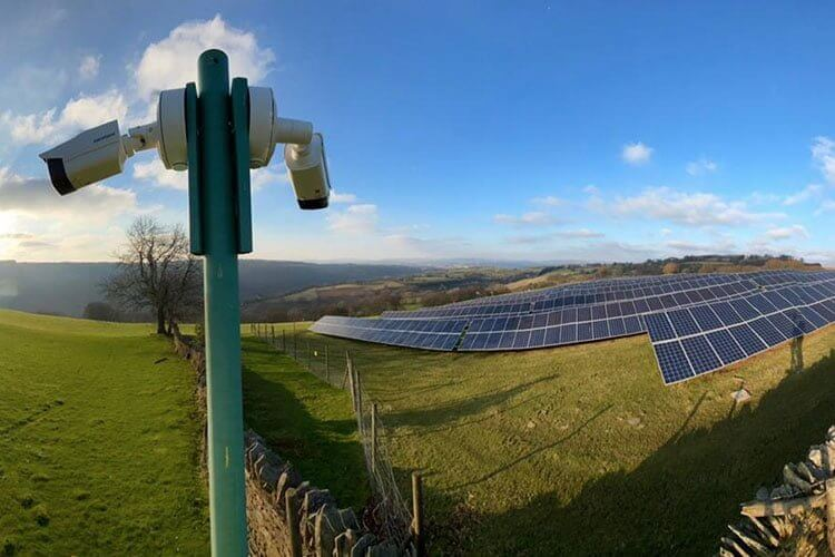Solar Farm CCTV system