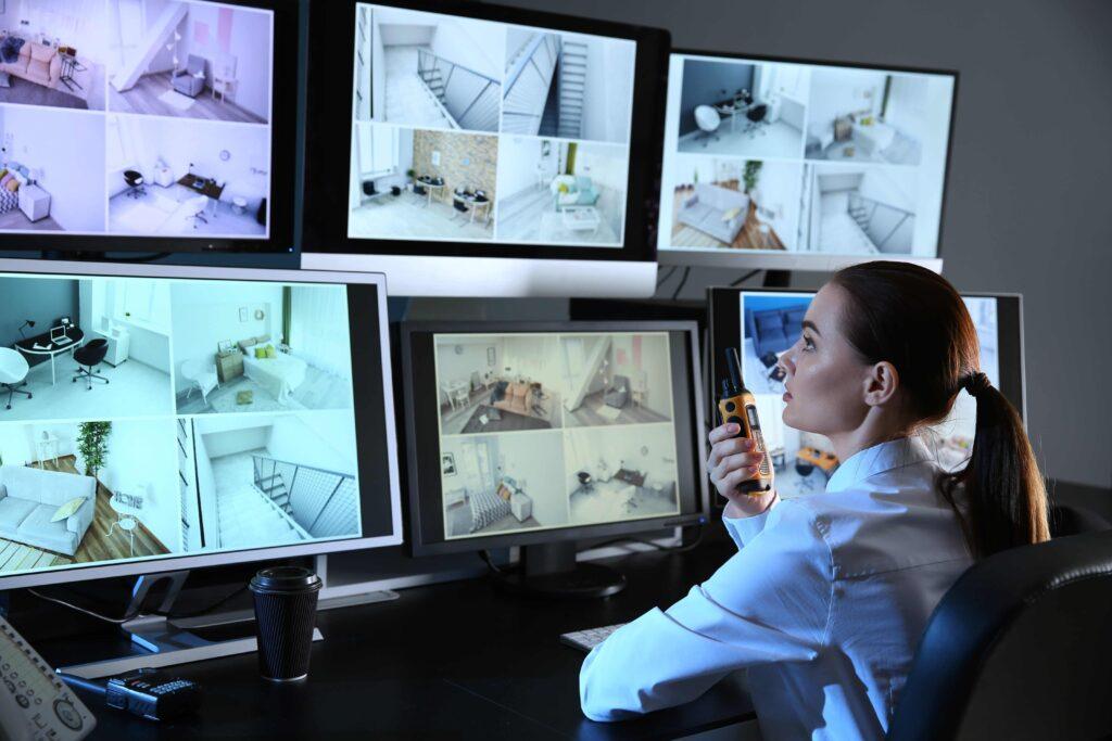 Remote CCTV Monitoring station