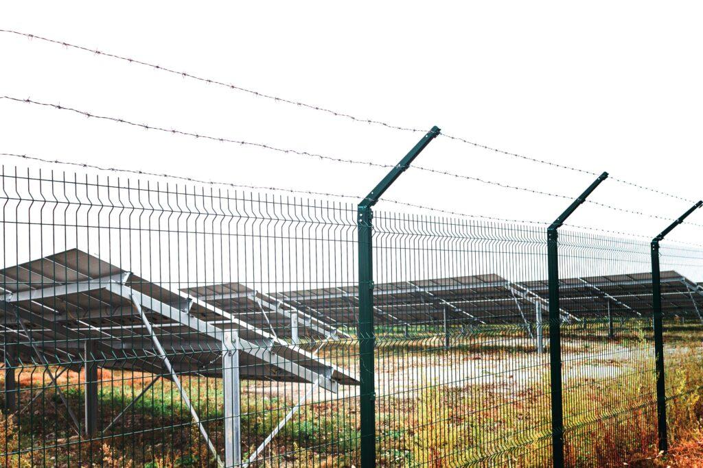 Solar Farm Perimeter Fence