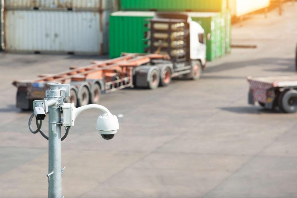 CCTV monitoring footage